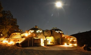 The Domes at Harbin Hot Springs.