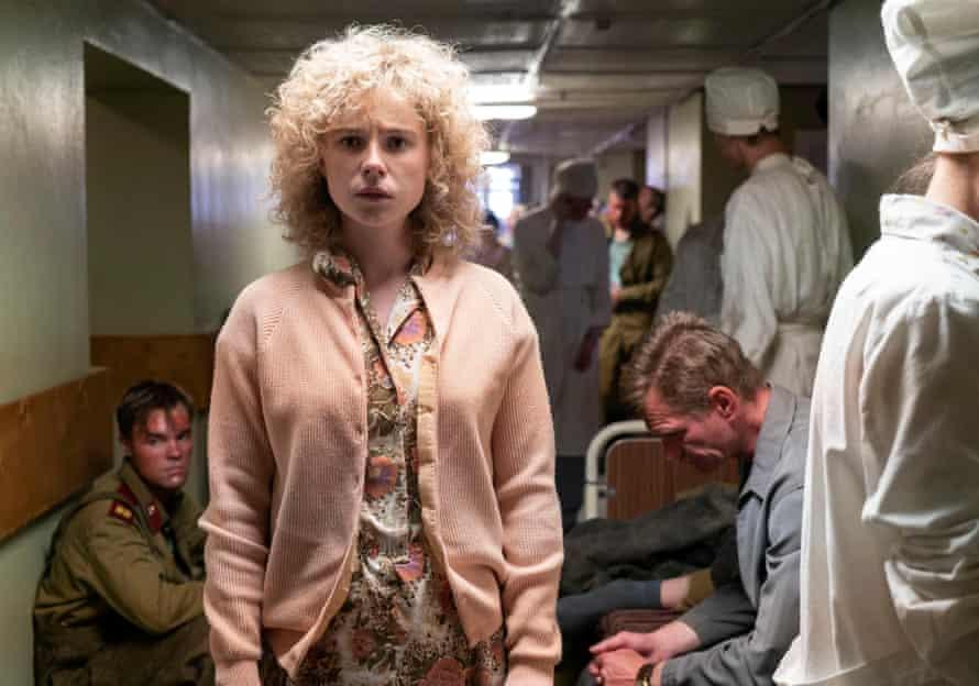 Actor Jessie Buckley in Chernobyl (2019)