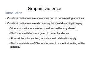 Graphic Violence 19