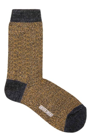 Wool socks, £14.99, genevievesweeney.com