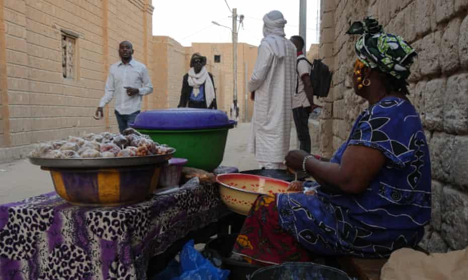Snack seller Diahara Maiga