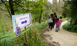 A Cadbury Egg Hunt at a National Trust property.