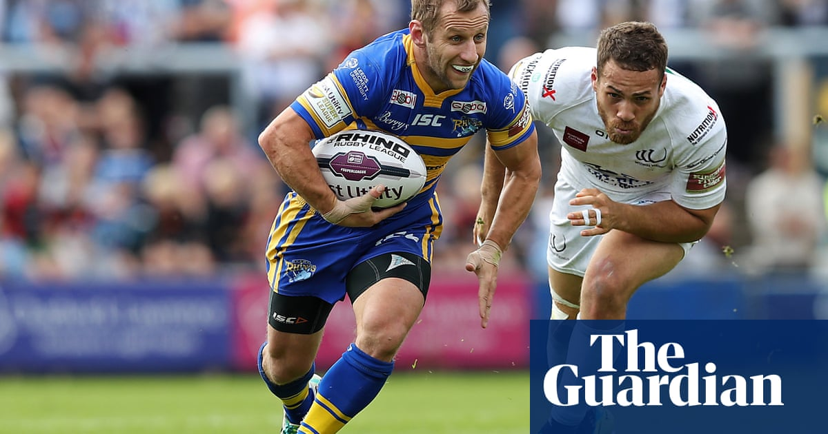 Rob Burrow reveals doctor's positive motor neurone disease outlook