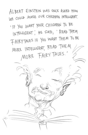 Page 18 of Neil Gaiman and Chris Riddell's book Art Matters. ART MATTERS by Neil Gaiman, illustrated by Chris Riddell is published by Headline on 6th September