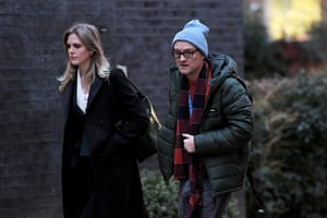 London, UK: Advisers Cleo Watson and Dominic Cummings arrive at No 10