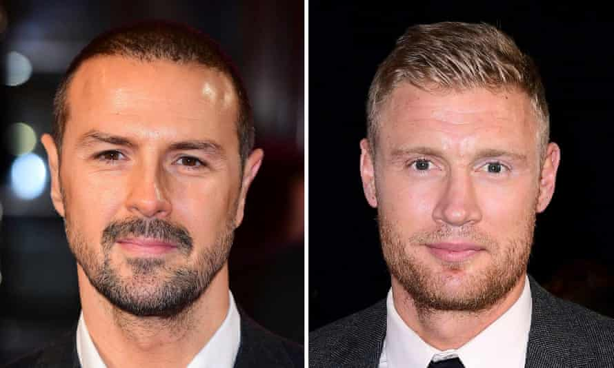 Paddy McGuinness (left) and Andrew Flintoff