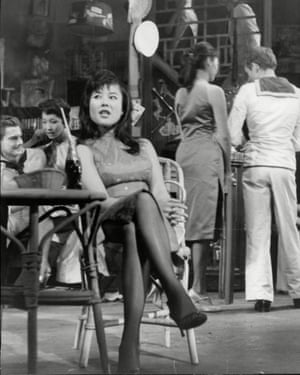 Big break … as sex worker Suzie Wong.