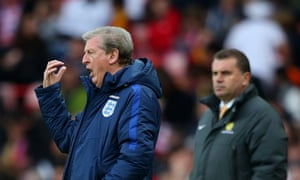 Work for Roy Hodgson to do at half-time.