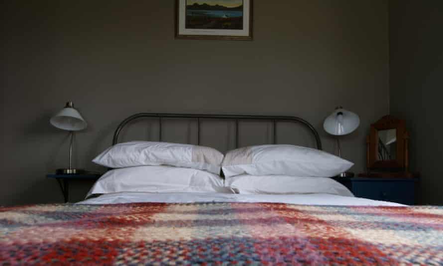 Bedroom at The Old Croft, Inner Hebrides