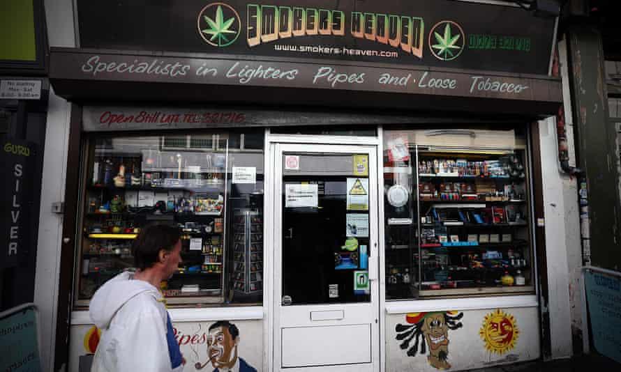 Brighton shop selling legal highs