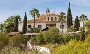 Centro Santillan retreat exterior in Spain
