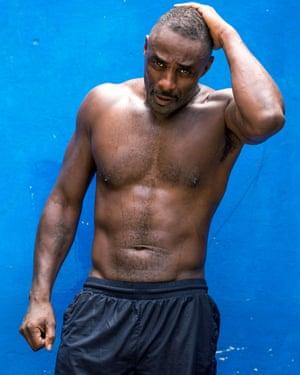 British actor Idris Elba.