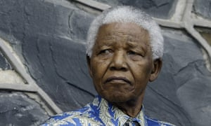 Nelson Mandela was left fuming after being rebuffed by President George W Bush.
