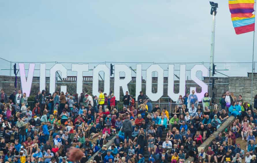 Crowd at Victorious Festival PORTSMOUTH,
