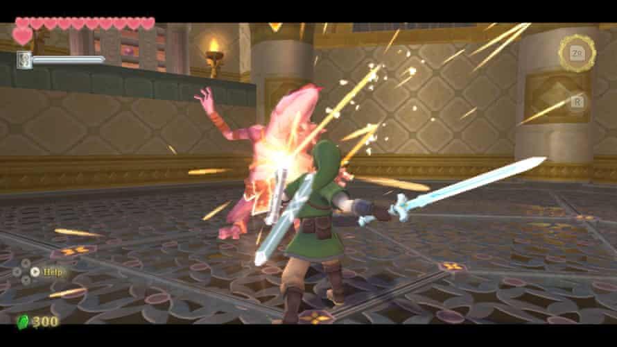Pure magic … The Legend of Zelda: Skyward Sword HD.