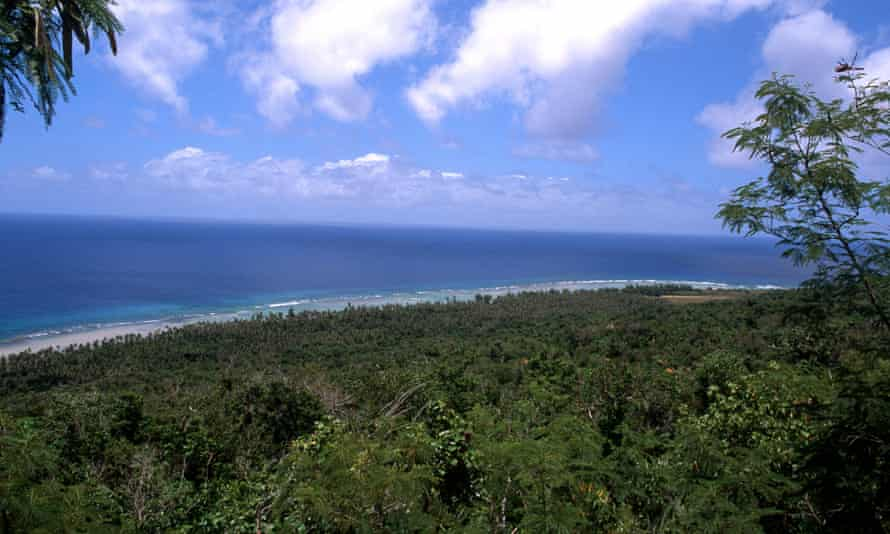 Beaches at Ritidian Point in Guam's north