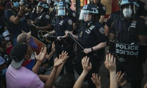 'For centuries, the police have in fact been the tool of oppression wielded to crush working people.'