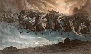 Asgardsreien, the Norwegian myth of the 'wild hunt of Odin'.