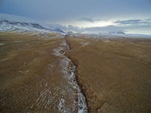The arid region of the Atacama desert