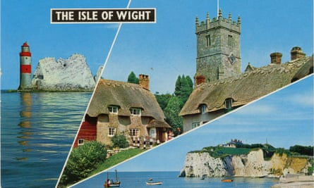 Old Isle of Wight postcard