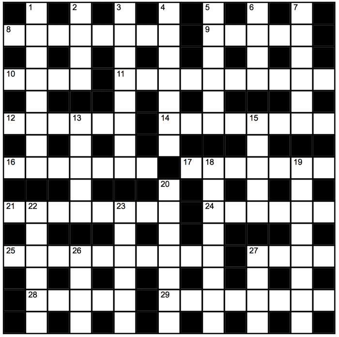Genius Crossword No 180 Crosswords The Guardian