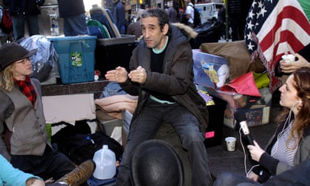 Douglas Rushkoff speaks at Occupy Wall Street