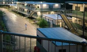 Detention facilities on Manus Island.
