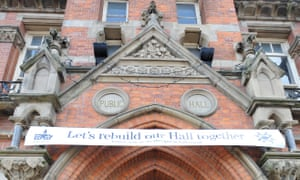 A campaign involving hundreds of volunteers saved Stretford Public Hall from passing into private hands. It is now community-run.