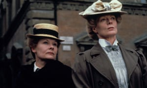 With Maggie Smith in A Room With a View.