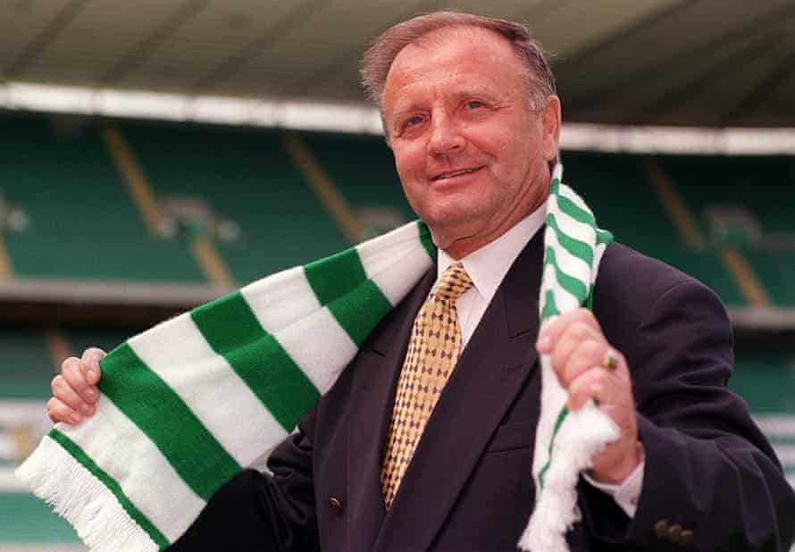 Dr Jozef Venglos when he took over at Celtic.