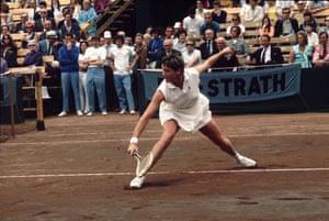 Ladies of Wimbledon: Australian tennis player Margaret Court in 1971