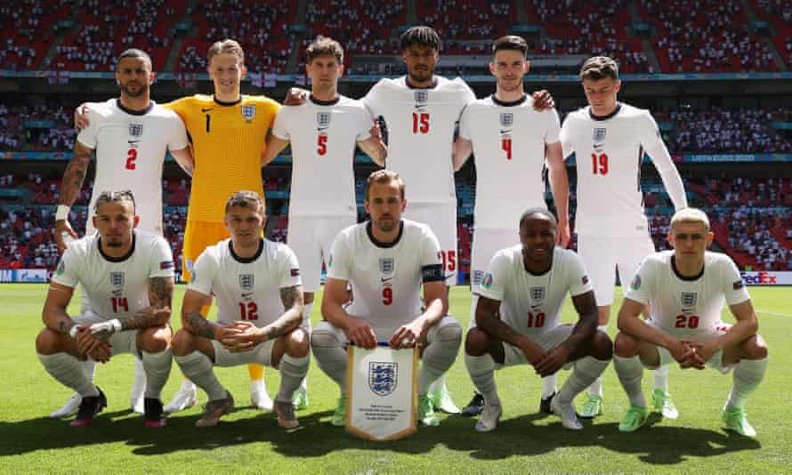 England's starting XI against Croatia. Not a Liverpool, Manchester United or Arsenal player in sight.