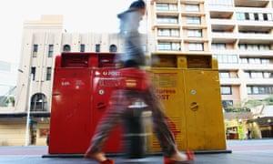 Australia Post boxes