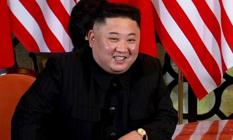 The North Korean leader, Kim Jong-un