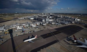 A view of Heathrow.