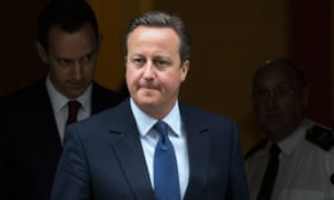 cameron leaves 10 downing street