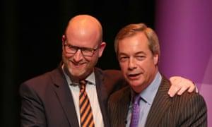 Paul Nuttall and Nigel Farage.