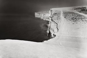 Black-and-white photo of Seven Sisters