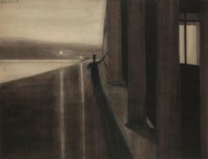 Spilliaert's The Night, 1908.