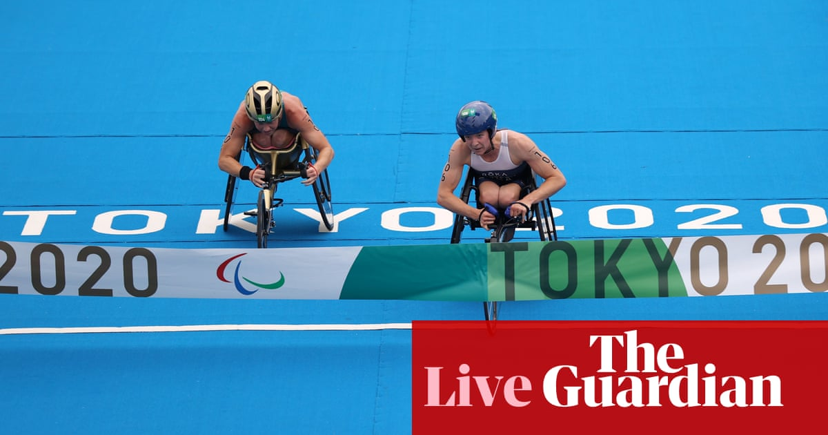 Tokyo Paralympics 2020 day five: triathlon, rowing, swimming, wheelchair rugby and more – live!