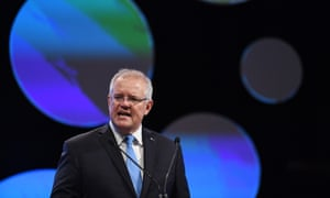 Prime Minister Scott Morrison speaks during the Australian Financial Review summit, Tuesday, March 10, 2020.