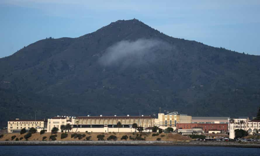 A view of San Quentin State Prison on June 21, 2020. The facility is experiencing a rapid outbreak of coronavirus cases