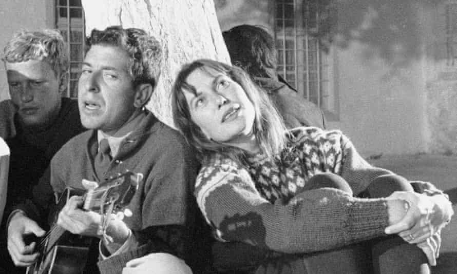 An inspiration: Leonard Cohen with Charmian Clift, Hydra, 1960.