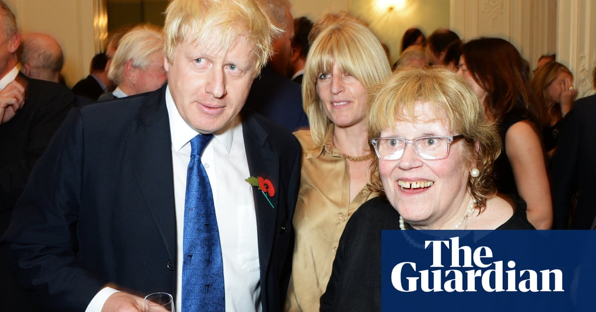 Boris Johnson's mother, Charlotte Johnson Wahl, dies at 79