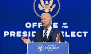 Biden speaks in Wilmington on Tuesday