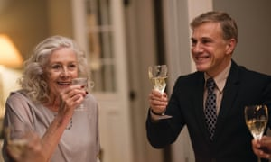 Vanessa Redgrave and Christoph Waltz in Georgetown. The film has some fascinating ingredients but seems frustratingly off-balance.