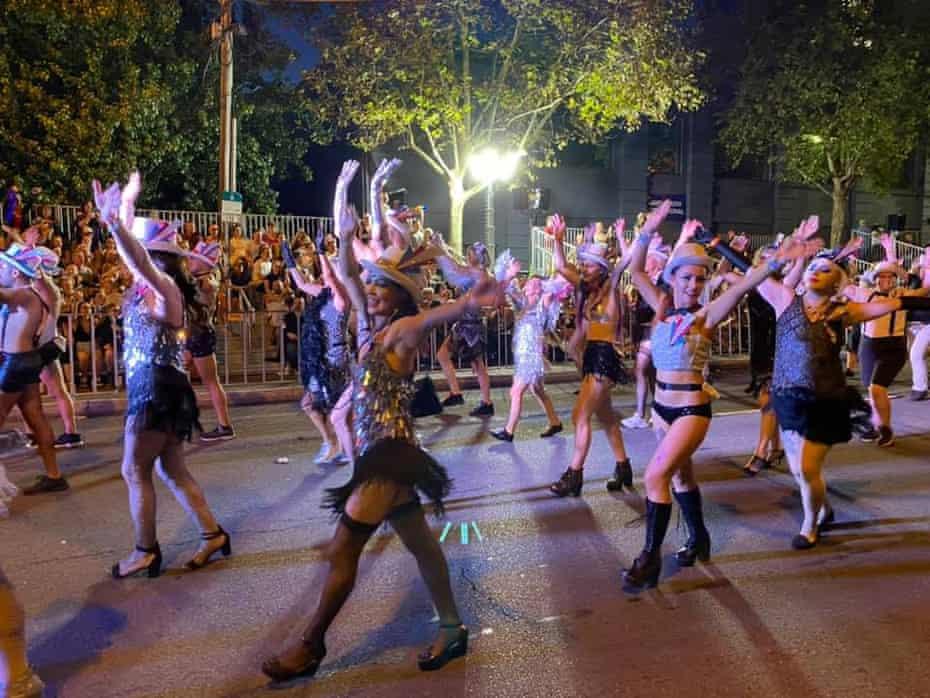 Trans Pride Australia in last year's parade