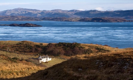 Scot free … Barnhill on Jura, where George Orwell wrote Nineteen Eighty-Four.