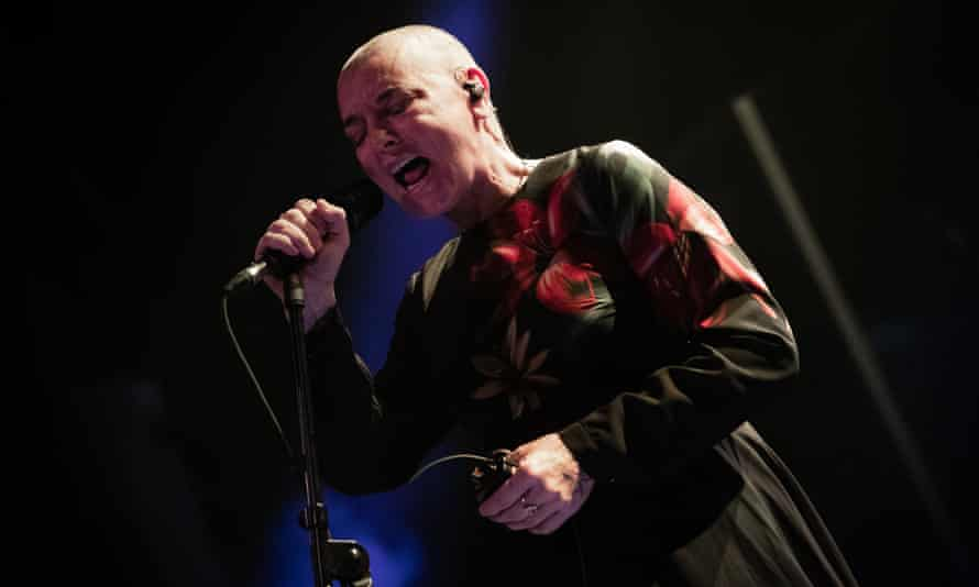 Sinéad O'Connor performing in Croatia earlier this year