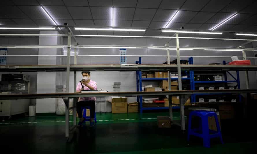a factory in Shenzhen